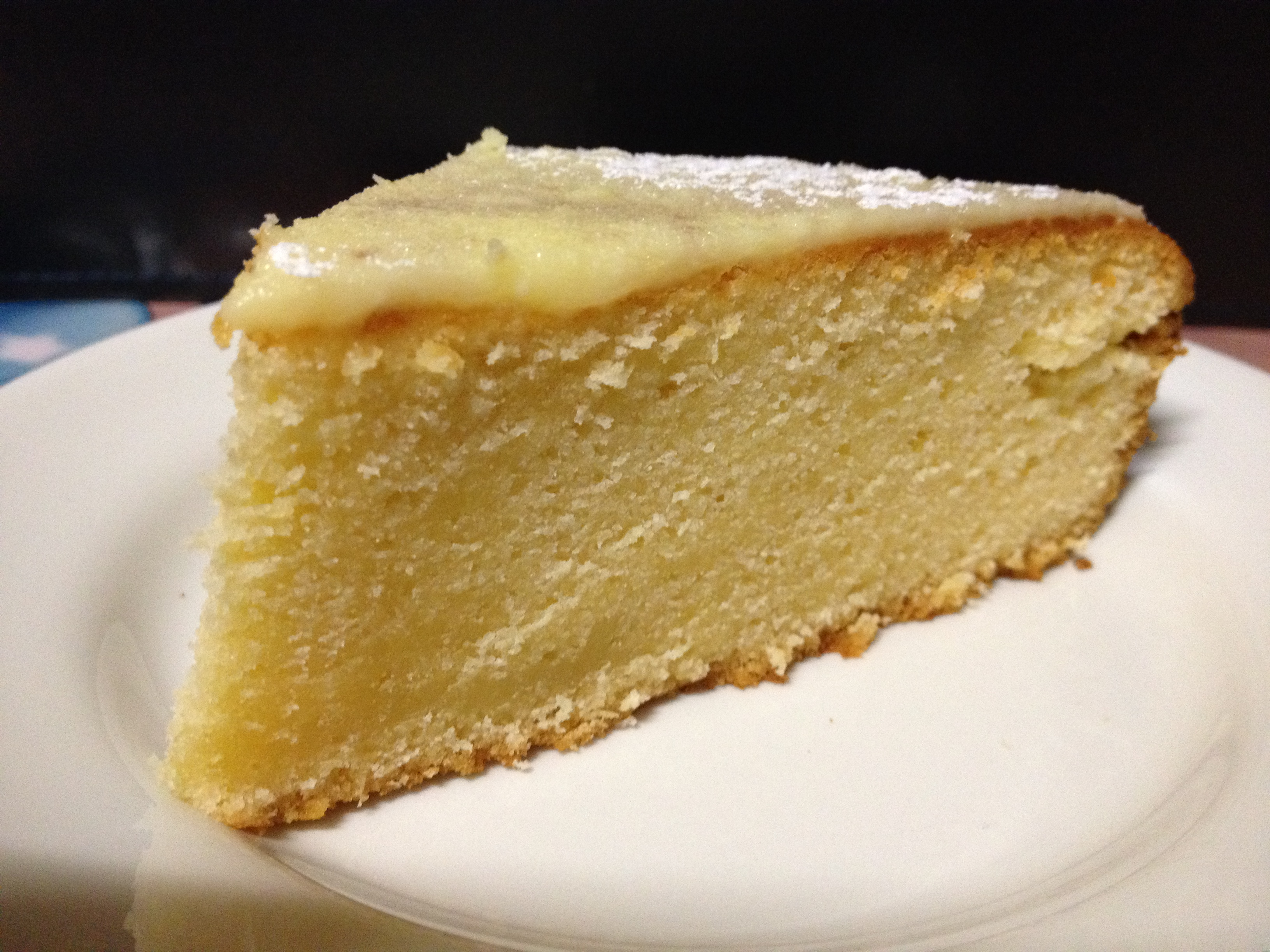 Citrus White Chocolate Mud Cake