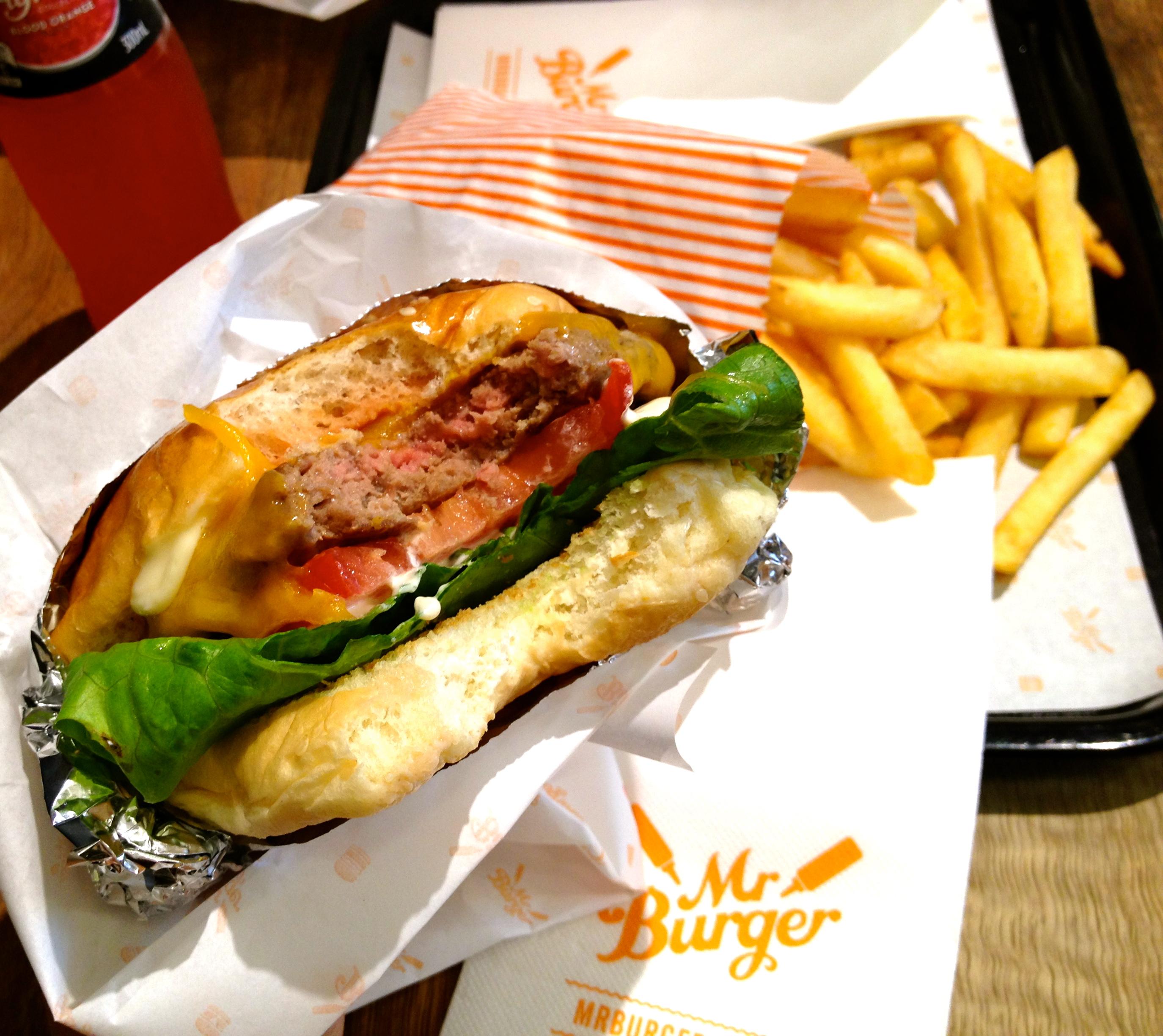 Mr Burger   DAMMIT JANET I LOVE FOOD