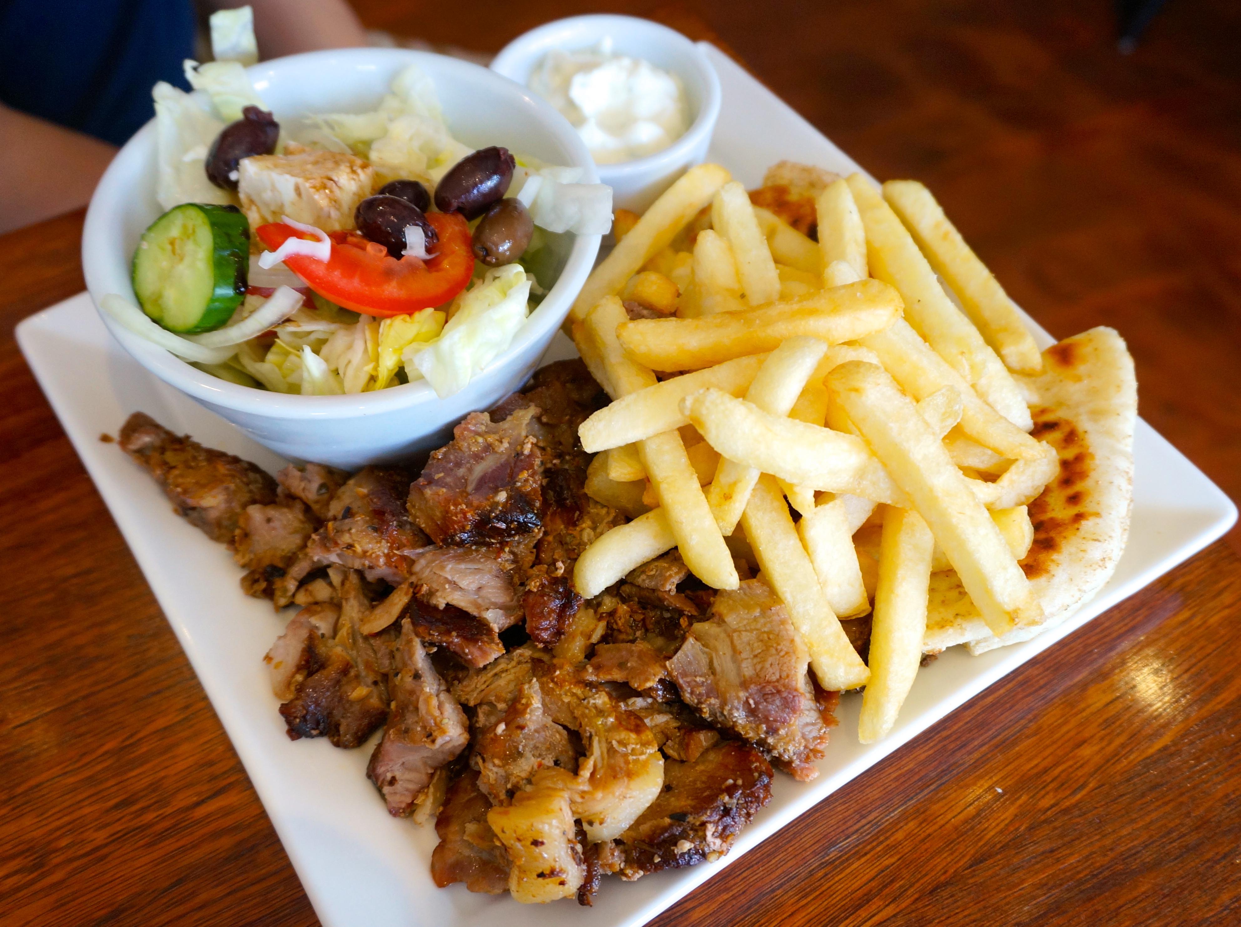 Greek Pita Chips Greek Salad Pita Bread